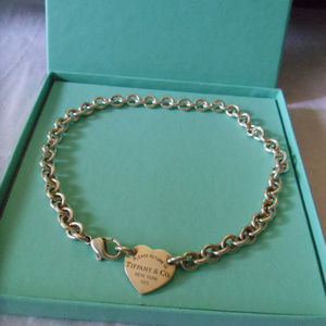 Tiffany & Co. Heart Tag Choker 925